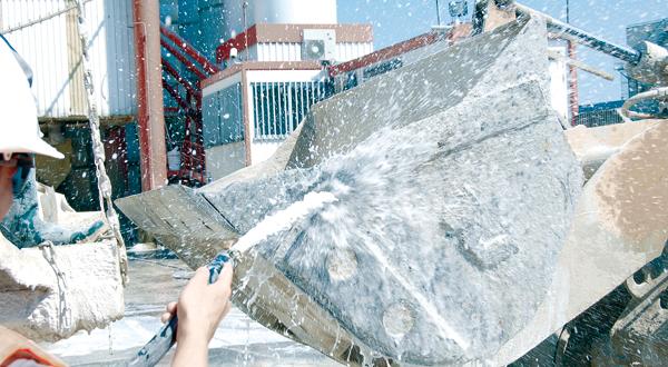 Растворитель бетона │ Очистка опалубки от бетона с Divinol Betonoloser |  Купить