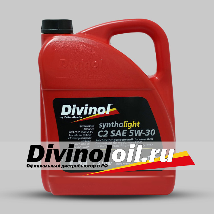 Divinol Syntholight 5W-30 С2