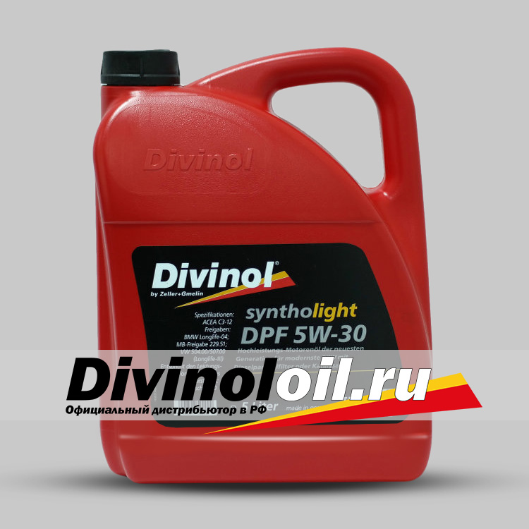 Divinol Syntholight DPF 5W-30 (Longlife)