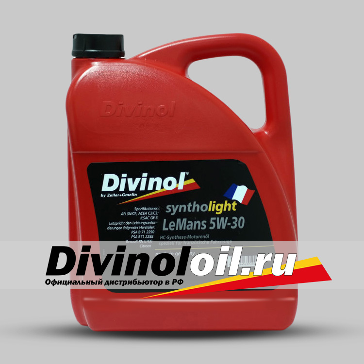 Divinol Syntholight LeMans 5W-30